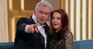 Ruth apologises to Priscilla Presley after Eamonn serenades her and  pretends to be Elvis - Mirror Online