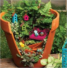 enchanted miniature fairy gardens with
