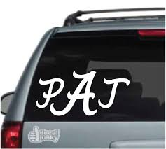 Alabama Monogram Car Decals Stickers Decal Junky