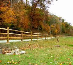 Treated Pine Post Split Rail