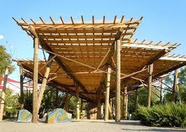 the canopy above the bernice garden