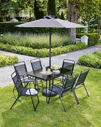 rectangle garden dining set 8 piece 6
