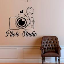 Creative Photo Studio Wall Decals Camera Art Flower Love Vinyl Home Decor Wall Stickers Interior Decoration Removable Mural Wall Art Decor Stickers Wall Art Murals Decals Stickers From Joystickers 15 02 Dhgate Com