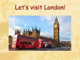 Let's visit London - презентация онлайн