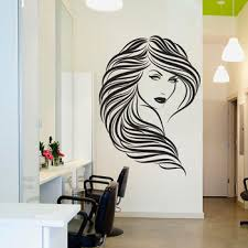 Wall Decal Beauty Salon Sexy Girl Face Vinyl Wall Sticker Home Decor Hairdresser Hairstyle Wall Sticker Barbershop 3d Decor 2979 Leather Bag
