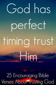 encouraging bible verses about trusting god major truths