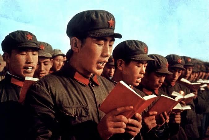 """Resultado de imagem para revolução cultural na china mao tse tung"""""""