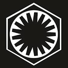 Amazon Com Cove Signs Star Wars First Order Die Cut Premium Vinyl Decal White 4 Automotive