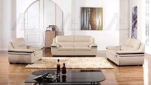 light gray genuine leather sofa set ae