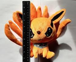 Naruto Shippuden Peluche 17cm Kurama Zorro De 9 Colas - $ 650.00 en Mercado  Libre
