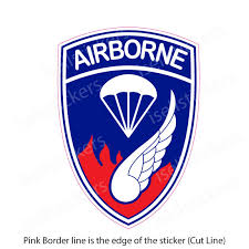 Army 187th Infantry Airborne Rakkasans Bumper Sticker Decal
