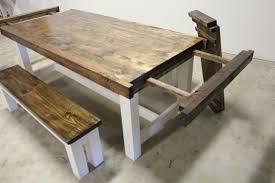 how to build farmhouse dining table