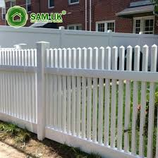 China 4 X 8 Round Top Vinyl Picket Fence Front Yard China White Vinyl Picket Fence White Vinyl Picket Fencing