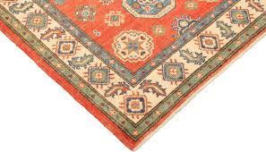 handspun wool kazak rug 3 2 x 5 1