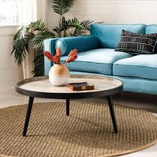 wrought studio 3 legs coffee table
