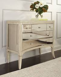 drawers mirrored chest horchow com