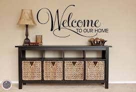 Welcome Wall Decal Welcome Sign Family Wall Decal Welcome Home Vinyl Wall Decal Family Decal Wall Decals Home Decor Family Wall Decals Family Wall