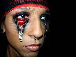easy scary makeup ideas for halloween