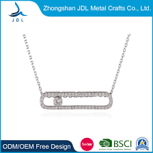 jewelry necklace brass plated