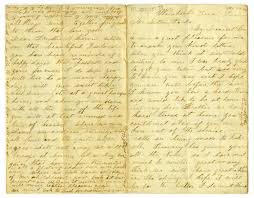 Letter to Milton Parks from Dollie Smith, 1864] - The Portal to ...