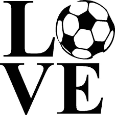 Love Soccer Decal Car Decalphone Decal Laptop Decal Sports Etsy