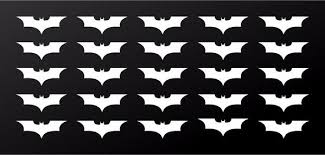 Dark Knight Batman Symbol Vinyl Decals Phone Laptop Helmet Small 1 5 Kandy Vinyl Shop