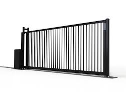 Industrial Track Mounted Slide Gate Leda Security Products
