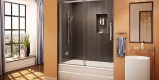 glass door shower memphis clear pic