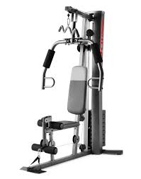 weider xrs 50 home gym with leg