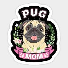 t shirt pug mom mother s day gift gifts