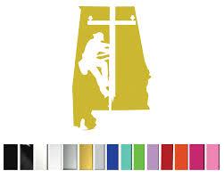 Lineman Alabama Shop Vinyl Design