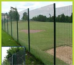Hot Dipped Galvanized Fence Panel Pvc Coated 358 High Security Fence For Airport