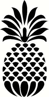 Decorative Pineapple Wall Sticker Vinyl Decal The Wall Works