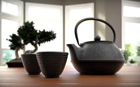 Japanese Tea Set | Aero 3D Studios
