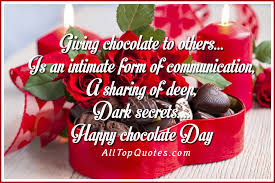 happy chocolate day quotes incredible sayings incredible