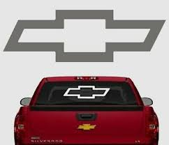 Auto Parts Accessories Chevy Bowtie Red Large Decals 12 Free Shipping Smaitarafah Sch Id