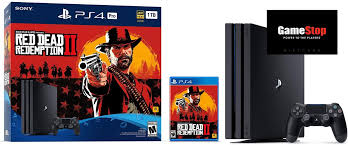 switch ps4 pro rdr2 bundles with free