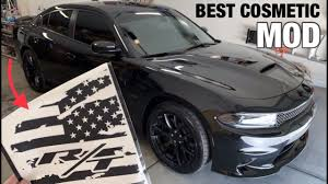 Luxe Rear Window Flag Decal Install On My 2019 Dodge Charger R T Plus Cummins Update Youtube