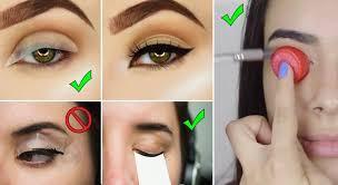 7 useful eye makeup hacks for beginners