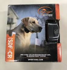 Sportdog Rechargeable In Ground Fence Add A Dog Collar Sdf 100c Open Box 729849167407 Ebay