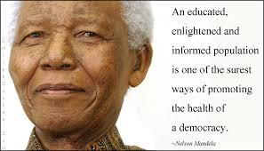 nelson mandela quotes education an educated enlightened and