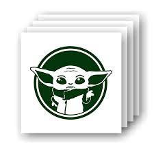 Amazon Com The Child Baby Yoda Mandalorian Inspired Small Vinyl Decal Handmade