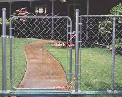 Chain Link Gate Hinges For Residential Single Walk Gate