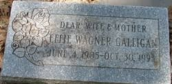 Effie Wagner Friese Galligan (1905-1993) - Find A Grave Memorial