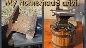 my homemade anvil you