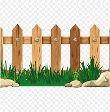 Wood Fence Border Graphic Wooden Thing Fence Cartoo Png Image With Transparent Background Toppng
