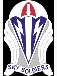 173rd Airborne Brigade Combat Team Distinctive Unit Insignia Us Army Greeting Card By Wordwidesymbols Redbubble