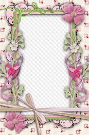 photo frame png pastel free