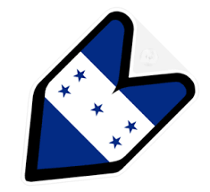 Jdm Driver Badge Honduras Honduran Car Decal Flag Not Vinyl Sticker Ebay
