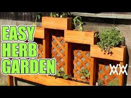 easy diy herb garden you can make this
